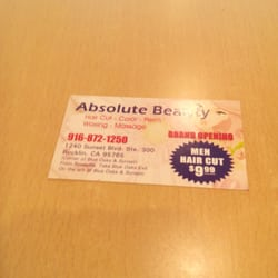 Absolute beauty hair salon and spa rocklin ca yelp for Absolute beauty salon
