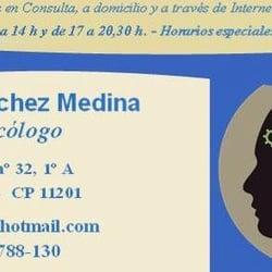 Rafael Sánchez Medina Psicología, Algeciras, Cádiz, Spain