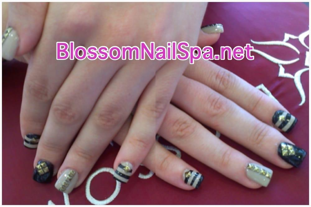 Blossom Nail Spa - San Jose, CA, United States. Shellac Nails w