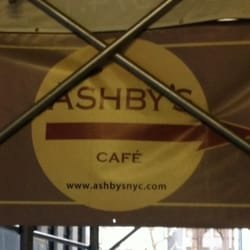 Ashby's - Ashby's sign (please ignore the scaffolding) - New York, NY, Vereinigte Staaten