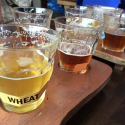 North Sound Brewing - Tasting flight! - Mount Vernon, WA, Vereinigte Staaten