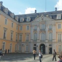 The entrance courtyard