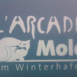 Franziskaner Biergarten, Mainz, Rheinland-Pfalz