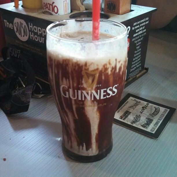 ... , CA, United States. Guinness Mint Chocolate Milkshake... BOMB