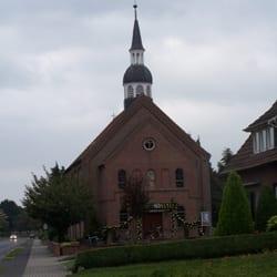 Kath. St. Bonifatius Kirche Hoogstede, Hoogstede, Niedersachsen