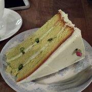 Huge pistachio cake