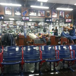 Barber Shop - Inside in a chair... - Orlando, FL, United States