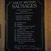 the oresome and unique sausage menu at…
