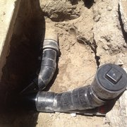Safari Plumbing & Rooter, Inc. - angle clean out - Paramount, CA, Vereinigte Staaten