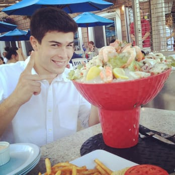 Paradise Cove Beach Cafe Seafood Tower