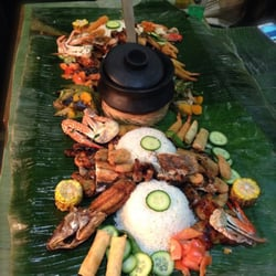 Kamayan Wednesday the real Filipino Feast