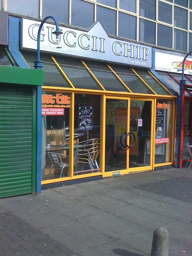 Guccii chip fast food 133 lisburn road belfast for Fast food fish restaurants near me