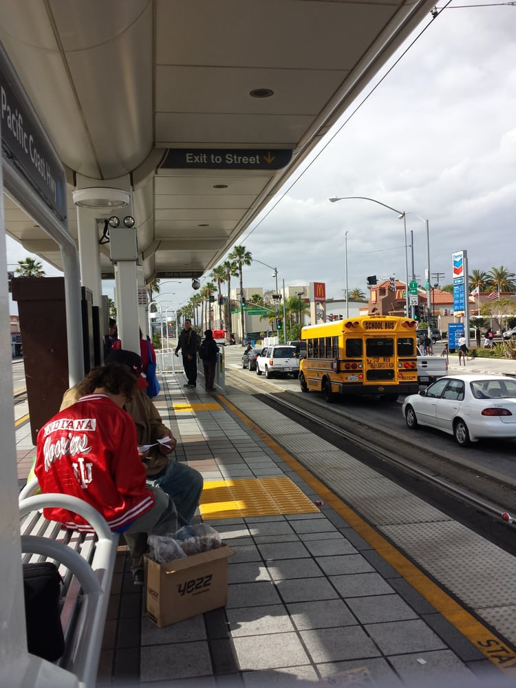 Pacific Coast Highway Blue Line Station Public Transport