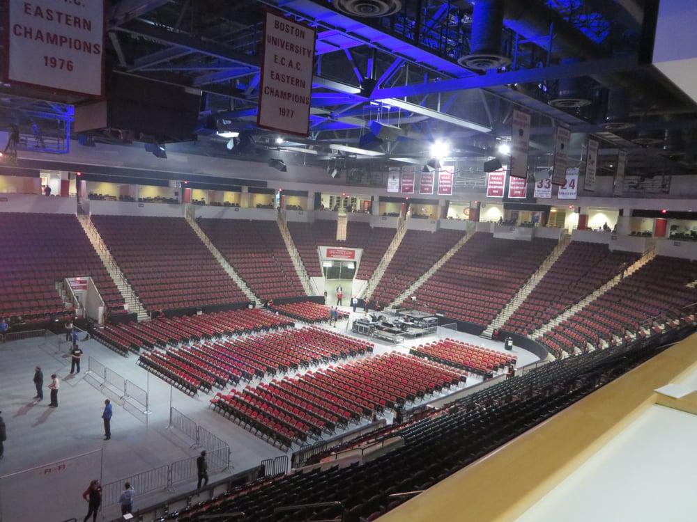o Agganis Arena Seating