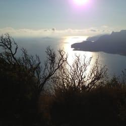 La vue du Cap Canaille