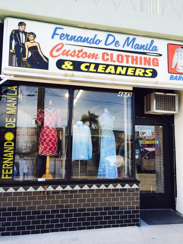 Fernando de manila custom clothing tailoring 67 photos for Custom dress shirts los angeles