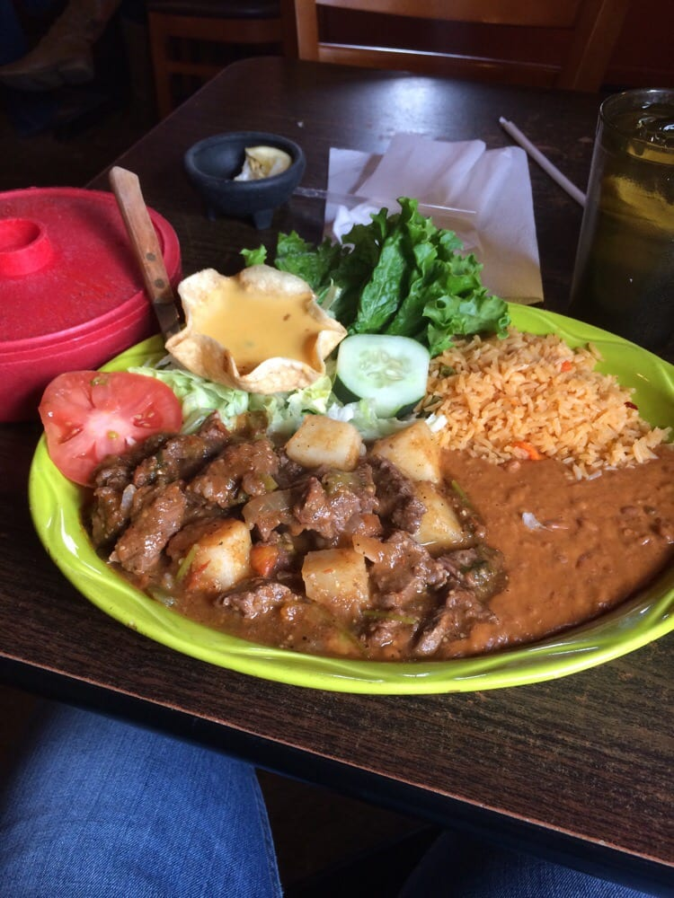 ... - Magnolia, TX, United States. Carne guisada, home made beef stew