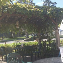 Sail Away Cafe - Afton, MN, United States. One of the lovely pergolas at Sail Away Cafe