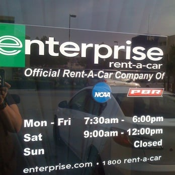 Enterprise Rent Car Pasadena Hours