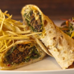Lamb nan wrap €9.95 for lunch