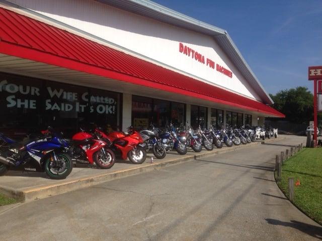 Daytona fun machines honda kawasaki yamaha sea doo for Yamaha motorcycles dealers near me