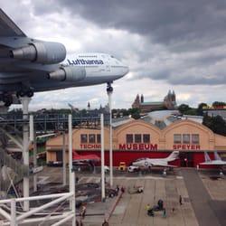Lufthansa 747 at the Technik Museum…