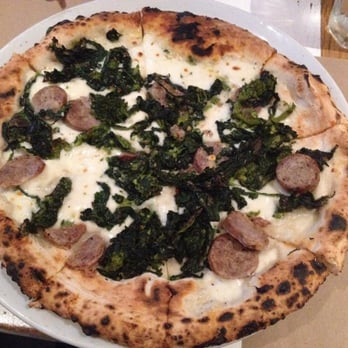 Ribalta Pizza - Broccoli rabe pie. - New York, NY, United States