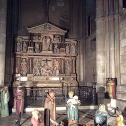 Krippe mit Altar