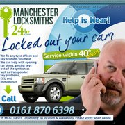 Car Lock Out Manchester