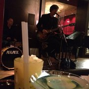 Passion Caspiroshka and apple martini…