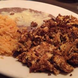 El Dorado Authentic Mexican Restaurant - Huevos con chorizo - Raleigh, NC, Vereinigte Staaten