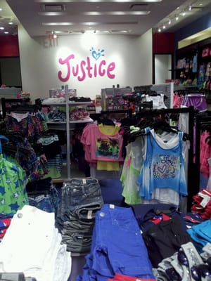 Justice Clothing Store Near Me