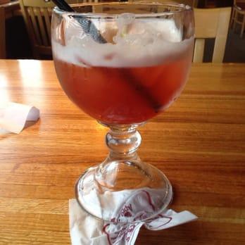 Strawberry Long Island Iced Tea Applebee