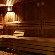 Relax in sauna or steam
