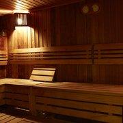 Relax in sauna or steam