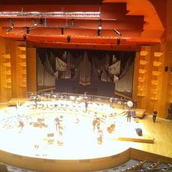 Auditorium de l'Orchestre National de Lyon - Lyon, France. L'orgue monumentale de l'auditorium de Lyon.