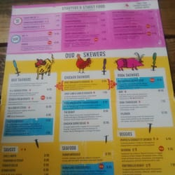 Top of menu
