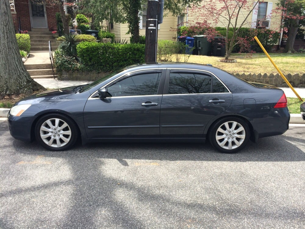 2007 Honda Accord Ex L V6 With 35 Percent Tint On The