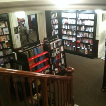 From the landing, books!