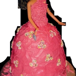 Novelty Princess Doll Cake
