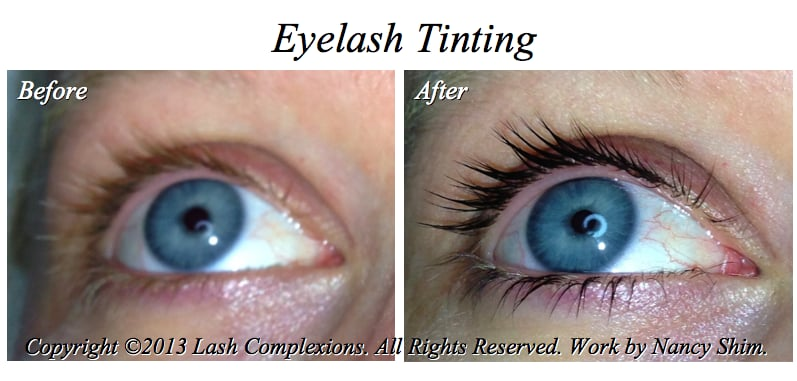 Eyelash Tinting And Extensions Eyelash Extensions by Nancy