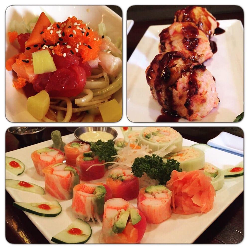 Sake Cafe Sushi Menu