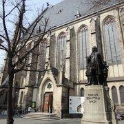 Thomaskirche, Leipzig, Sachsen