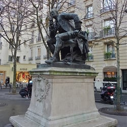 Statue de la Mort, Paris