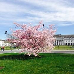 Frühling in Koblenz, Kurfürstliches…