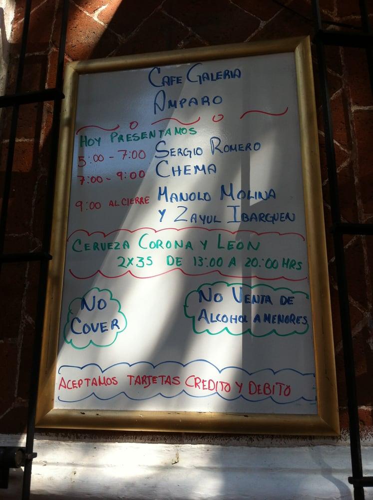 Cafe Amparo Puebla Café Galería Amparo Puebla