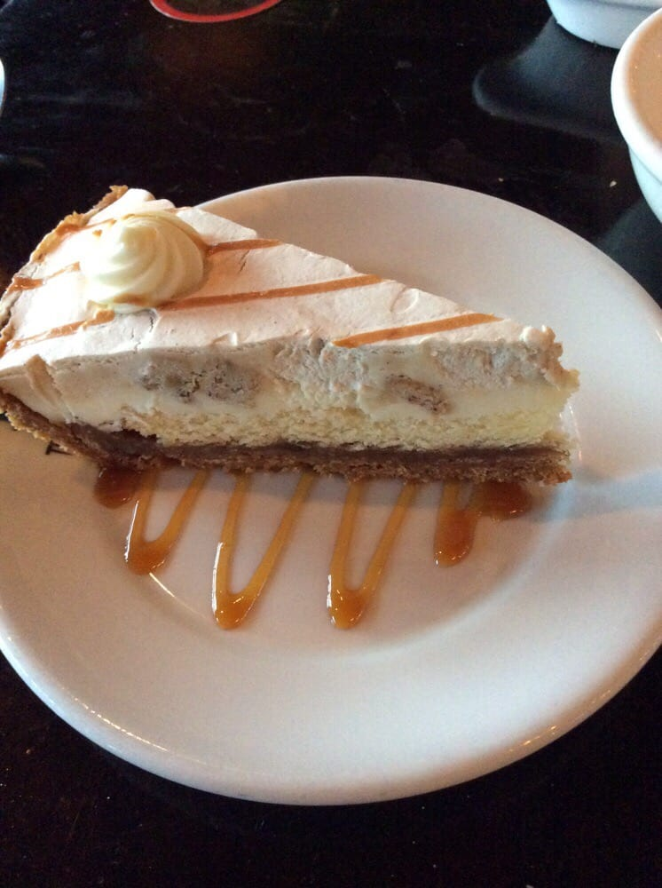 Texas de Brazil - Orlando, FL, United States. Banana Foster Pie
