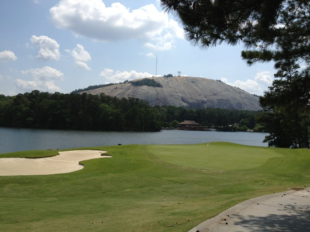 9th hole Stonemont cart path only | Yelp