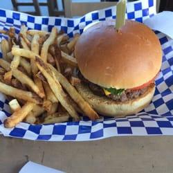 Boardwalk Fresh Burgers And Fries Hermosa Beach Ca