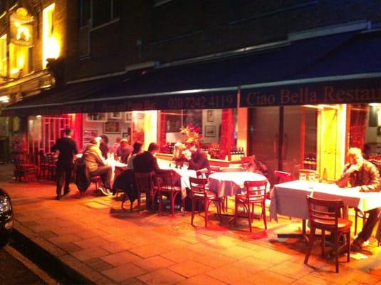 Italian Restaurant Near Russell Square